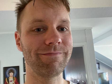 FEM PÅ ROCKER'N: Erik Henriksen