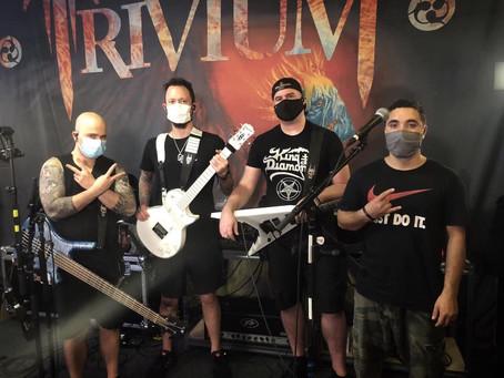 Trivium livestream ute nå!