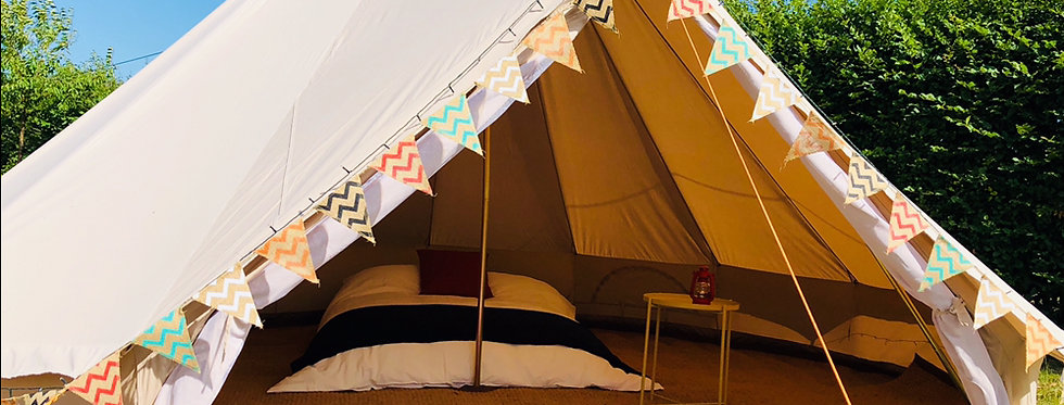ONE LOVE - PITCH 5m bell tent