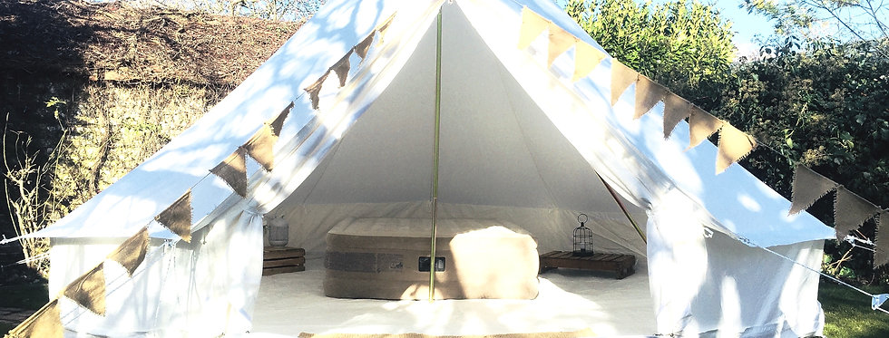 Romy & Vic [SPICE] 4M bell tent