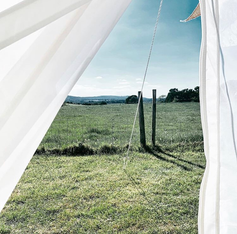 A Bell Tent with a View