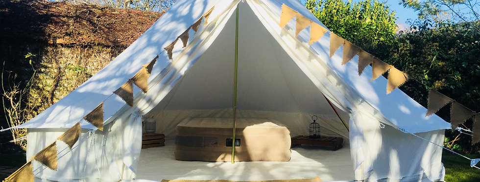National Conference [SPICE] 5m bell tent