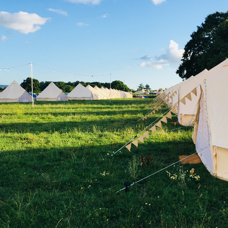 Festival Glamping -  Bell Tent Hire