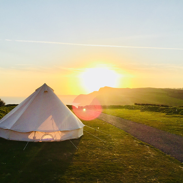 #ABellWithAView - Bell Tent
