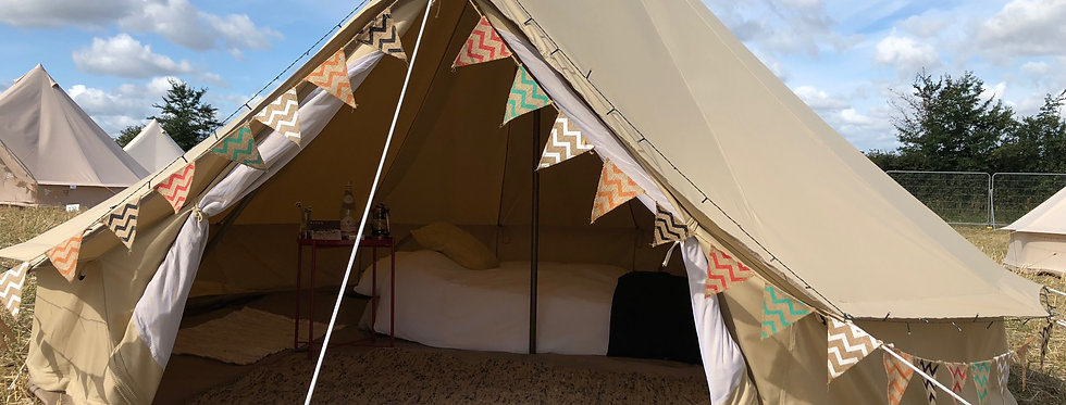 ONE LOVE - PITCH 4m bell tent