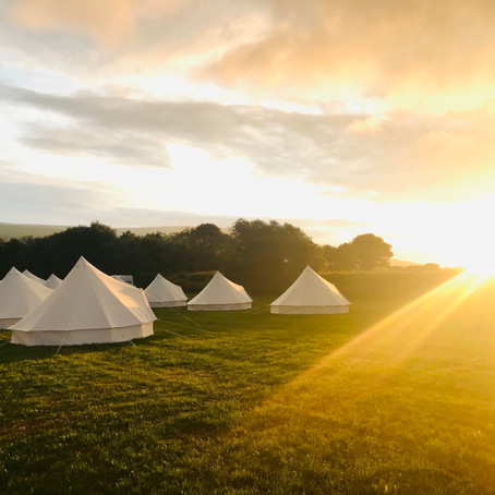 Glamping in the LIGHT OF THOMAS COOKS FALL