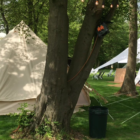 Bell Tents For Hire - roll Up - Roll Up