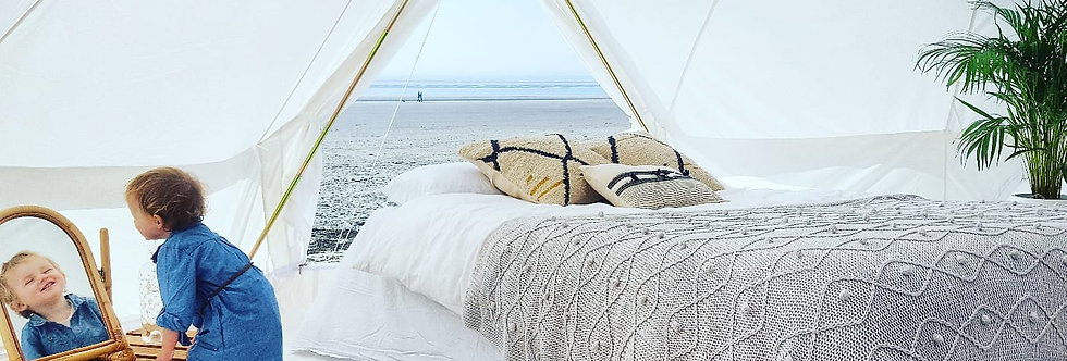 Camping BeCider Seaside 2019 [6m&7m Bell Tents]