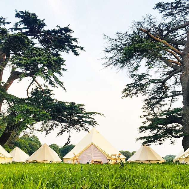Bell Tents and more bell tents
