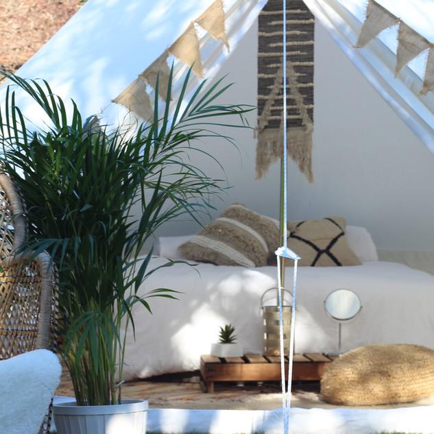 Luxury Bell Tent - BOHO