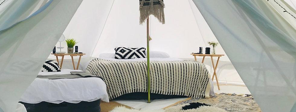 Ed & Elie - [AllThingsNice] 5m bell tent