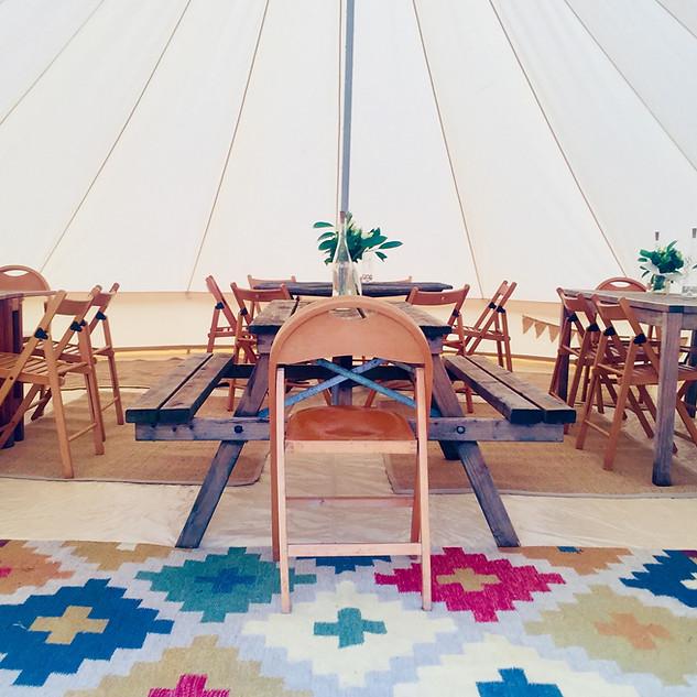 #7mDiningTent - Bell Tent