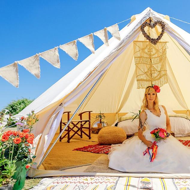 #BridalSuite Bell Tent