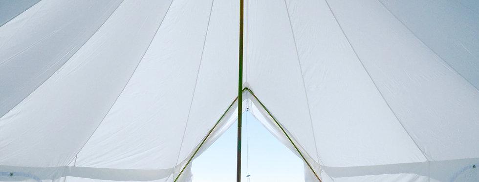 Amanda's Birthday [Unfurnished bell tent]