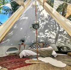 Garden Bell Tent