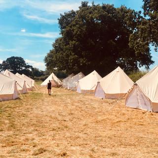Bell Tents - Kerrys Wedding