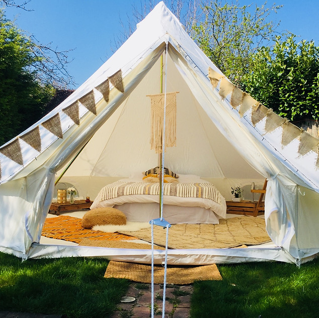 Yellow - Bell Tent