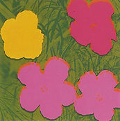 Andy Warhol, Flowers II.68, 1970, Screen