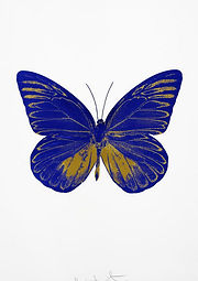 Damien Hirst, Souls I 'Butterfly', Foilblock prints, 72x51cm, Ed of 15 (3).jpg