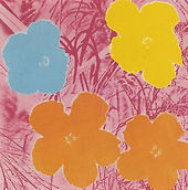 Andy Warhol, Flowers II.70, 1970, Screen