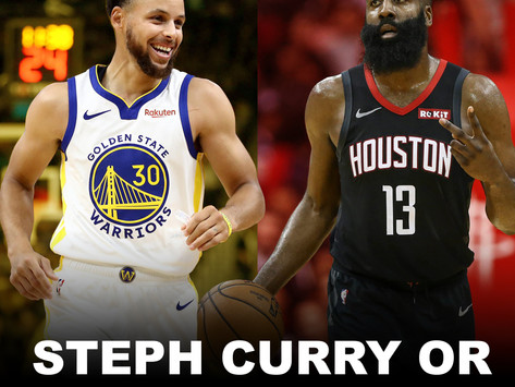 The Timeless NBA Twitter Debate: Steph Curry or James Harden?