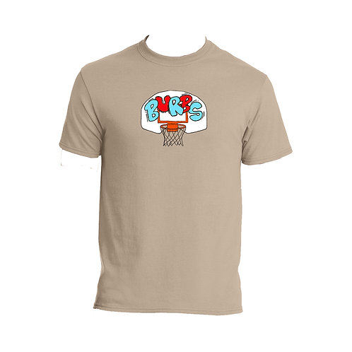 Burbs Hoops 'Sand' T-Shirt