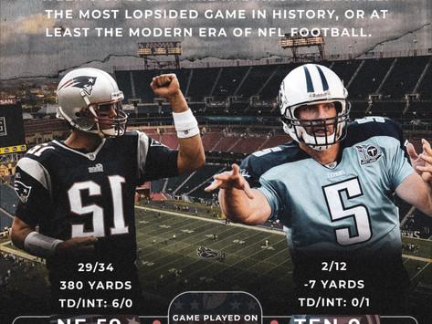 Random Week 6 Moment from NFL History