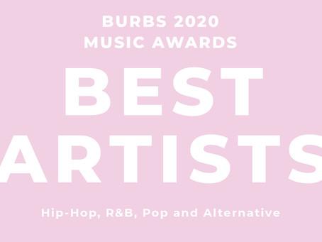 Best Artists of 2020: Hip-Hop, R&B, Pop and Alternative