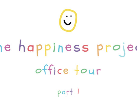 The Happiness Project: Office Tour - Part 1