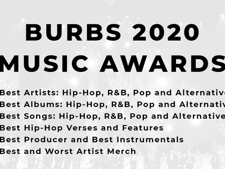 2020 Music Awards: Best Artist, Album, Song, Verse, Instrumental and more