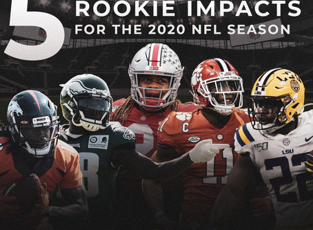 Top 5 Rookie Impacts for the 2020 NFL Season