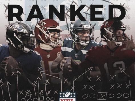 All 32 NFL Team Roster Rankings