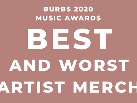 Best and Worst Artist Merch of 2020