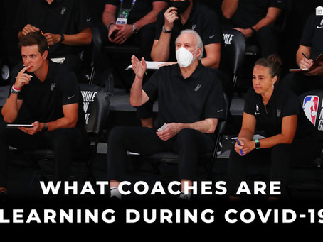 If There's Any Plus Side To COVID-19 In The NBA, Coaches Are Seeing It