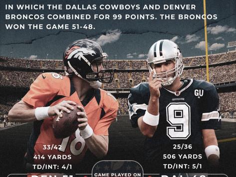 Random Moment in NFL Week 5 History