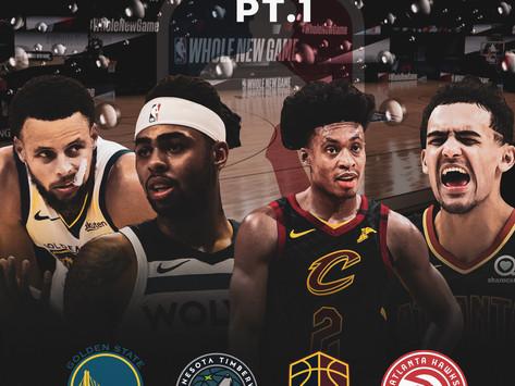NBA Bursted Bubble Pt. 1