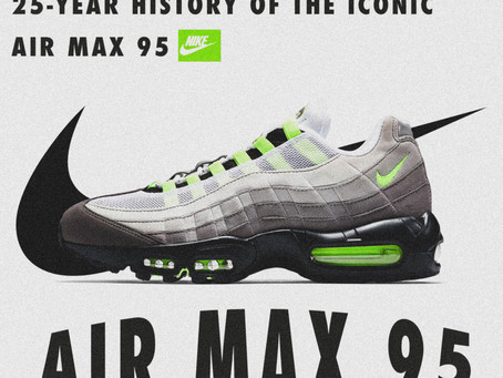 25-Year History Of The Iconic Air Max 95