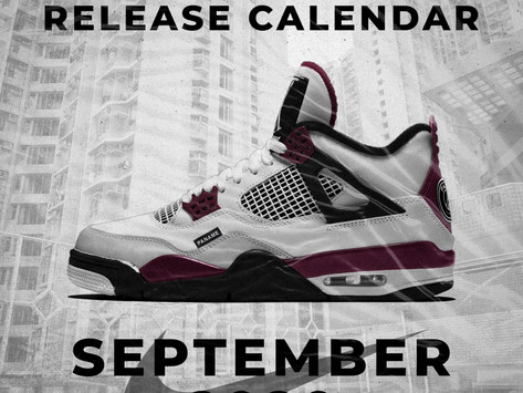 September 2020: Nike Sneaker Release Calendar