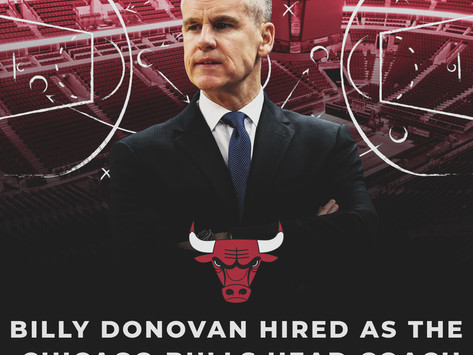 Billy Donovan Hired as the Chicago Bulls Head Coach