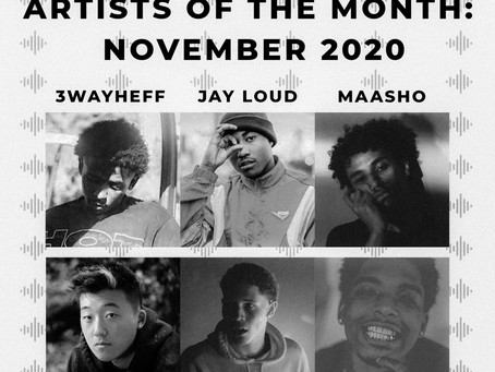 Underground Artists of the Month: November 2020