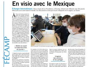 Fraternité Franco-mexicaine au lycée La Providence - Fécamp