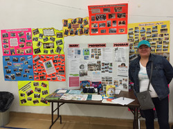 Injury Prevention display booth