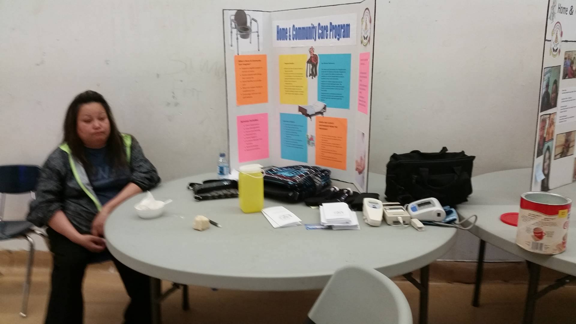 Home Care display booth