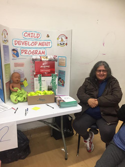 Child Development booth
