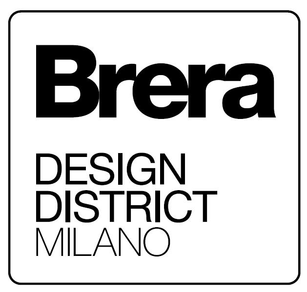 Logo Brera design nero