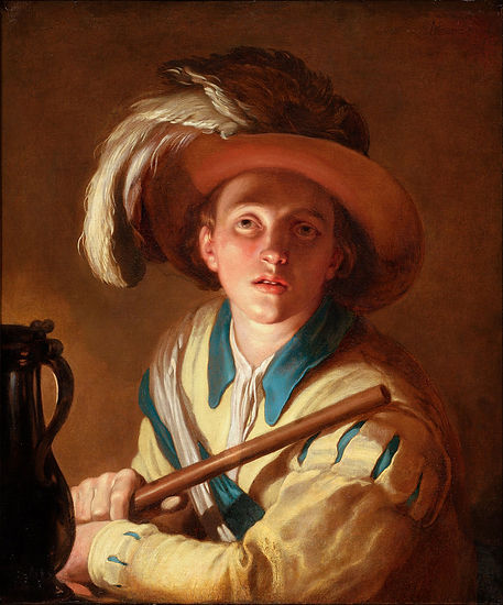 Abraham_Bloemaert_-_The_flute_player_-_G