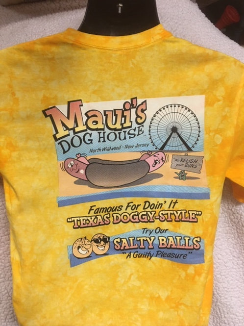 Yellow Tye die shirt