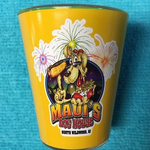 Maui Custom logo Salty ball  Shot Glass
