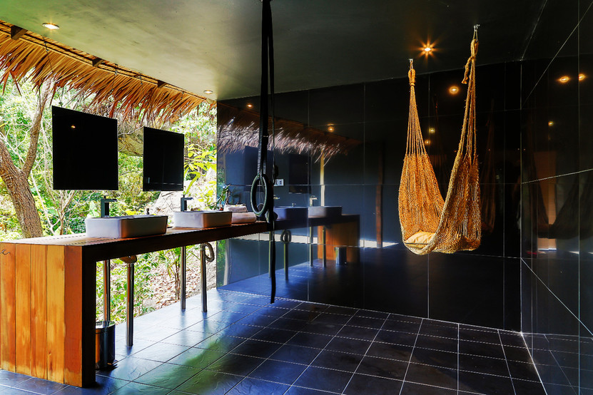 5 star Somewhere Only We Know Resort - The Hedonist Villa Bathroom