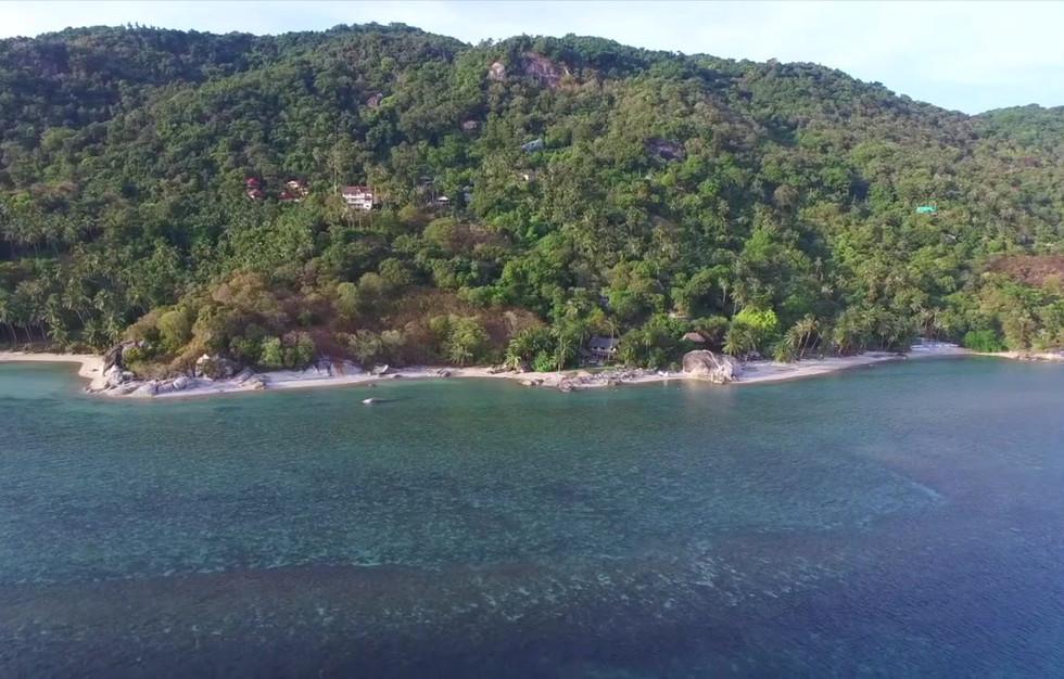 1. Drone Flight Beach Estate drone OK qu